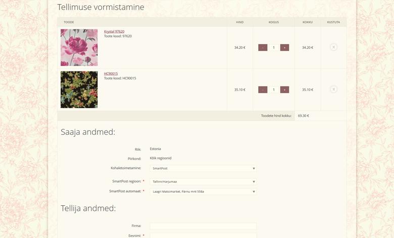 Разработка сайта и интернет-магазина Moonavoor Seinakattestuudio